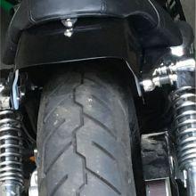 Harley Davidson Heckfender gekürzt